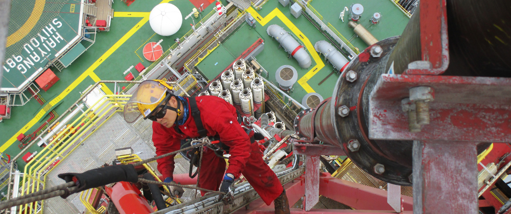 981 semi-submersible offshore oil drilling platform cases